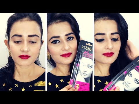 Loreal Paris Kajal Magique (Supreme Black) | Honest Review & Demo | SWATI BHAMBRA