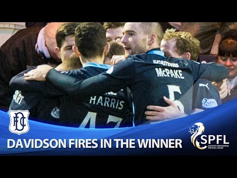 Iain Davidson scores winning goal against Buddies