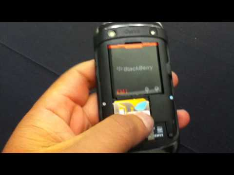 Video del nuevo BlackBerry Curve 9360