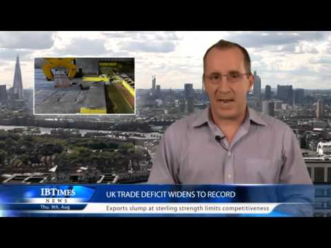 UK Trade Deficit Widens to Record