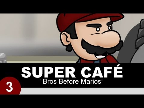 Thumb Super Café: Superman, Batman y Super Mario Bros