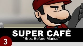 Super Café: Superman, Batman y Super Mario Bros