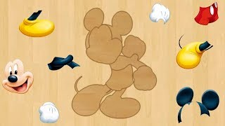 Kids Puzzle Choose Your Favourite Cartoon Character. Kids Jigsaw Puzzle Game