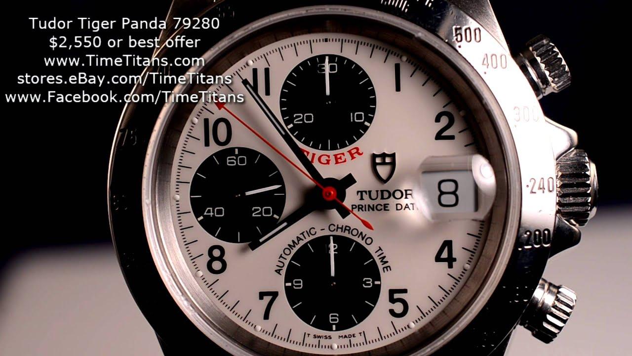 Tudor Prince Date Chronograph Tudor Tiger Chronograph Prince