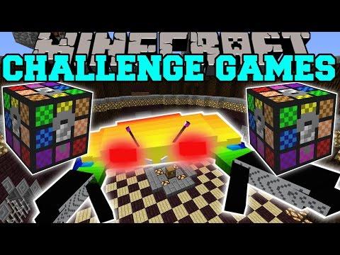 Minecraft: RAINBOW CRAB CHALLENGE GAMES - Lucky Block Mod - Modded Mini-Game