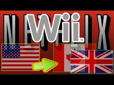 Watch US Netflix in UK Canada and Europe 2014 Tutorial Wii    New Code