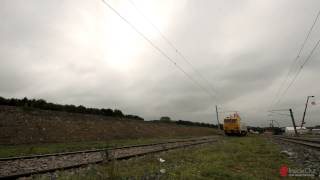 ZECK catenary tensioning unit BM 957 @ Rail Live 2014 by Network Rail
