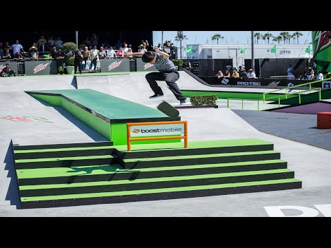 Men's pro Street Finals Highlights | Dew Tour Long Beach 2018