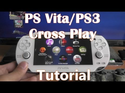 PS Vita & PS3 Cross Play - How to Transfer Games