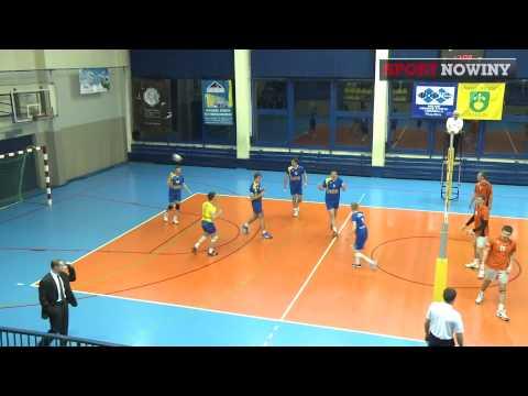 3 Liga Siatkówki: Górnik Radlin - MUKS Michałkowice: 1 Set [11.01.2014]
