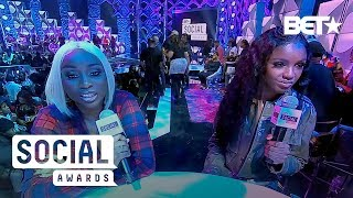 Remy Ma & Papoose Prove #BlackLove Can Win Yet Again | BET Social Awards 360 Cam