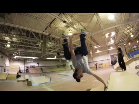 Ethernal Skate Films / Skateboard filming session @ Local skateparc (Victoriaville/Qc)
