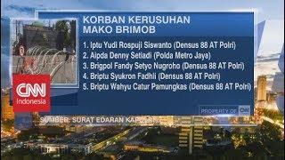 Nama-nama Korban Kerusuhan di Mako Brimob