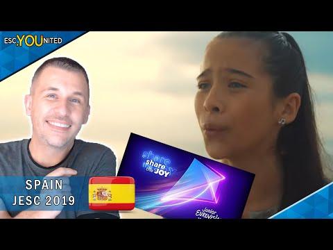 SPAIN: Melani Garcia - Marte (Mars) | Junior Eurovision 2019 - REACTION