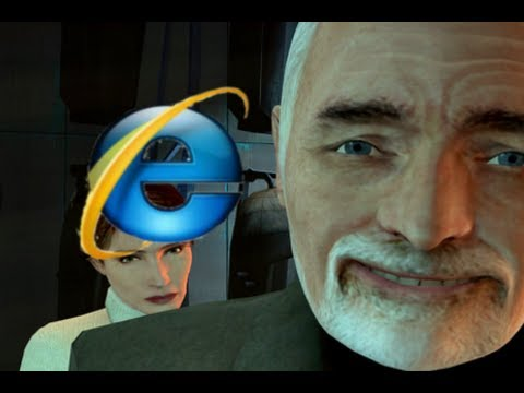 Old people use Internet Explorer [ Gmod funny short ]