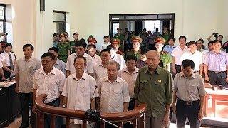 """Xử sơ thẩm 14 quan xã """"xẻ thịt"""" đất Đồng Tâm"""