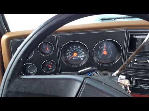 1978 Chevy Big Ten Custom Deluxe Cold Start