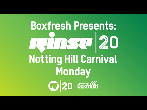 Boxfresh Presents: Rinse at Notting Hill Carnival 2014 (Monday)