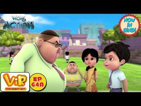 Vir: The Robot Boy | Gintu Ban Gaya Teacher | As Seen On HungamaTV | WowKidz Action