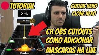 🔵Tutorial - Adicionar Mascaras - How To Chart Mask -  Live Guitar Hero Clone Hero (Cowbas®)