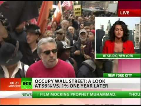 Occupy Wall Street turns one with protests from coast to coast