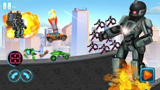 ► Car Games For Kids | Fun Kids Racing Automatrons 2 Car Transforming Games & Car fighting Games