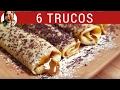Cómo hacer PANQUEQUES y panqueques con dulce de leche: 6 TRUCOS de la masa para panqueques