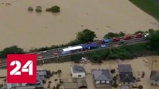 В Японии растет число жертв тайфуна - Россия 24