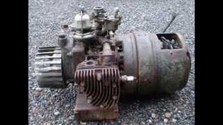 oldtimer boxer engine with generator, maybe ONAN   or Homelite?
