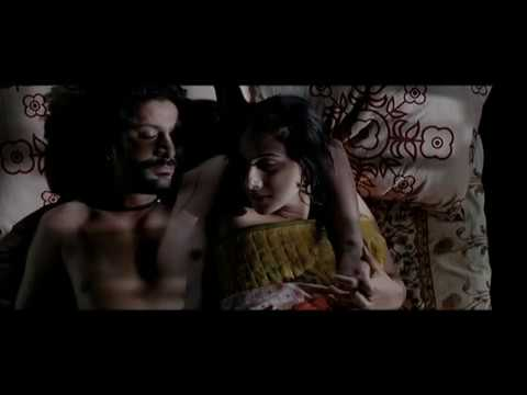 Vidya Balan and Arshad Warsi Kissing Scene - Ishqiya - Hindi Movie Romantic Scene