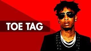"""TOE TAG"" Dark Trap Beat Instrumental 2017 | Hard Dope Rap Hiphop Freestyle Trap Type Beat | Free DL"