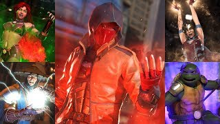 injustice 2 legendary edition , All Super moves , Outros , including all DLC and skins