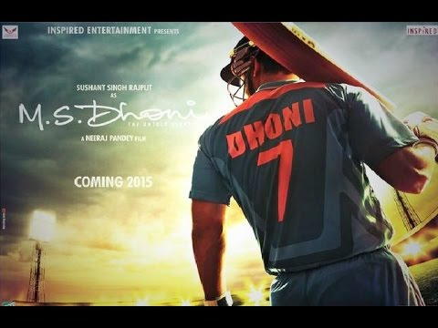 MS Dhoni Movie First Look ft Sushant Singh Rajput As MS Dhoni...