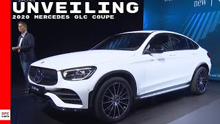 2020 Mercedes GLC 300 Coupe Unveiling