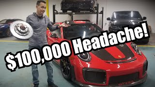 The $100,000 GT2 RS Tire Change