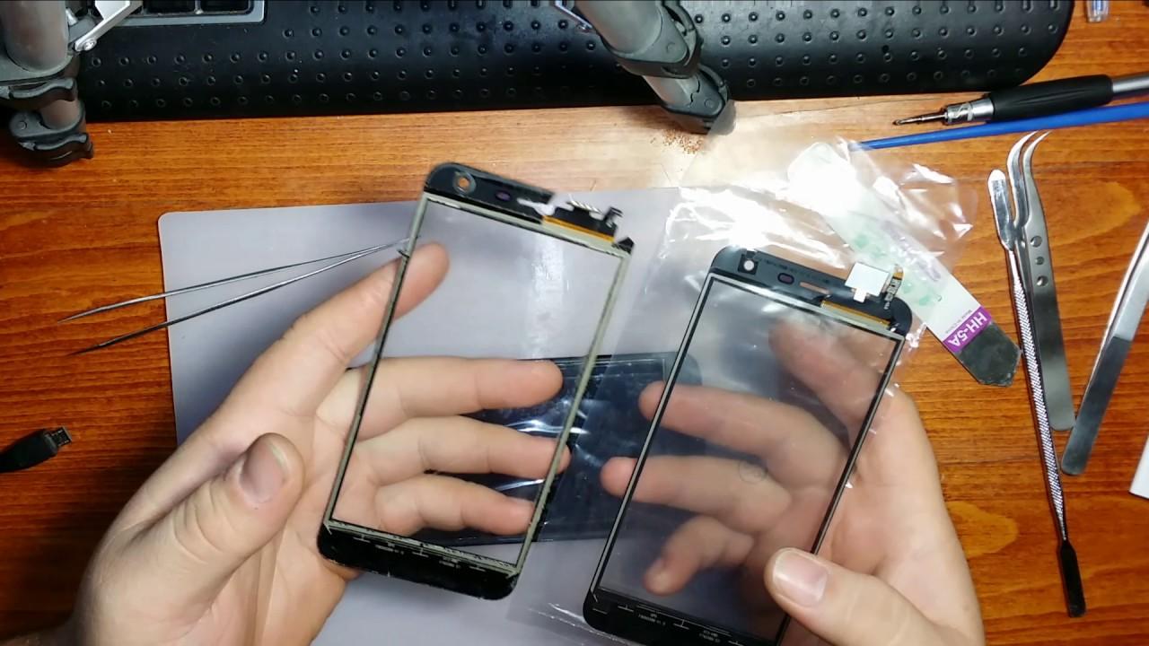 Поменять стекло на телефоне своими руками 542