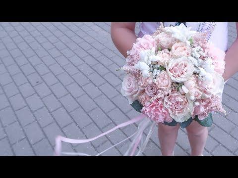 Как сделать НЕЖНЫЙ БУКЕТ невесты // ФЛОРИСТИКА