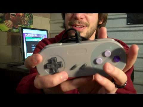 CGR Undertow - TOMEE SNES USB CONTROLLER for PC/Mac Video Game Accessory Review