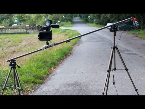 Camera-Slider mit Motor - Do It Yourself / Eigenbau (IGUS) - [Testaufnah