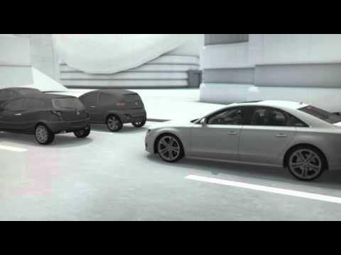 Audi-Technik: Neue Fahrer-Assistenzsysteme Für Mehr Sicherheit