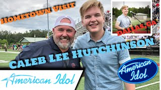 Download Lagu Caleb Lee Hutchinson American Idol Top 3 Hometown Visit Week Gratis STAFABAND
