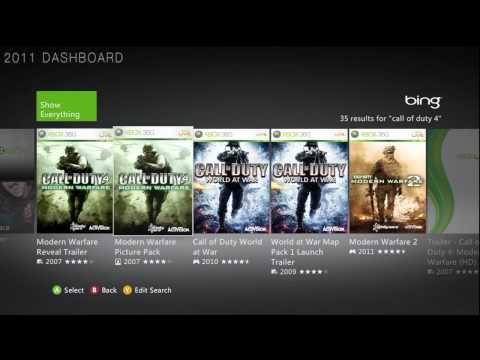 New 2011 Vs Old 2010 Xbox 360 Dashboard Comparison