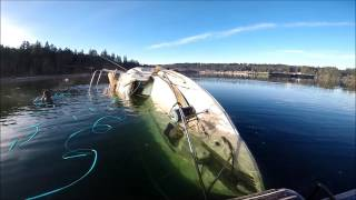 Boat Salvage in the Puget Sound