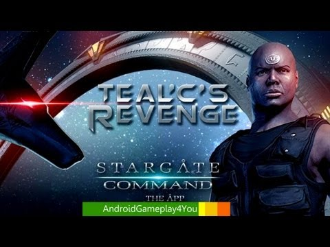 Stargate Command Android Game Gameplay (On Nexus 7)