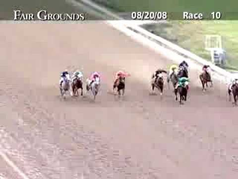 FAIR GROUNDS, 2008-08-20, Race 10