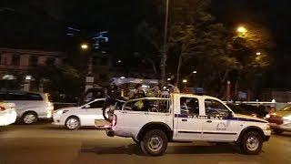 Tổng hợp xe cảnh sát chở tội phạm & đoàn xe của đức Phật Gyalwang Drukpa - Gyalwang Drukpa convoy