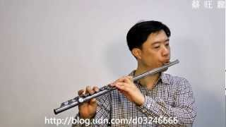 J.S. Bach:Air on a G String /G弦之歌/Flute/長笛 吹奏自錄-2012-5-9