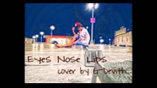 Eye nose lips by G-devith
