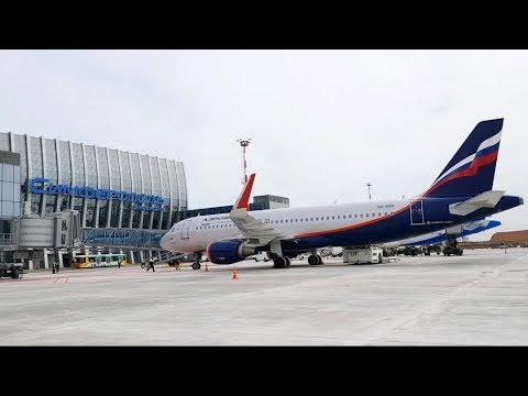 Новый аэропорт Симферополь Открытие ч3