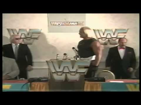 Hulk Hogan Vs Andre The Giant - Full Wrestlemania 3 Leadup